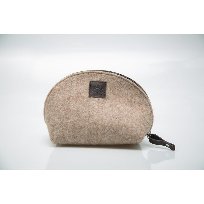 Natural Eco Wool Cosmetic Bag