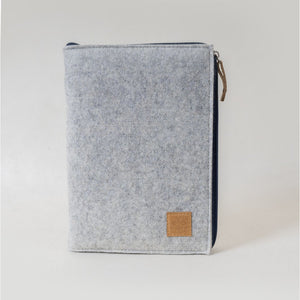 Notebook with Zipper