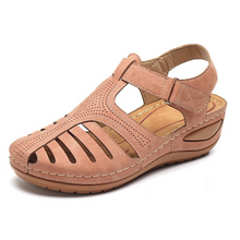 Load image into Gallery viewer, Orthopedic Premium Comfy Lightweight Leather Sandal (From Size 5 - 14)