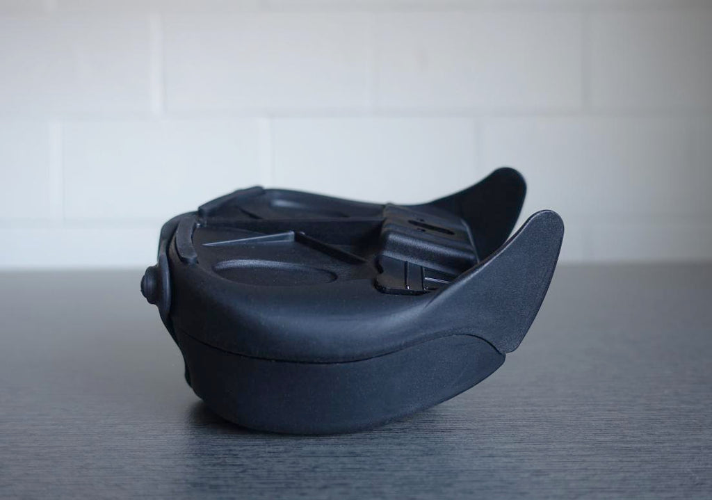 Aeroclam P1 Bike Seat Bag - Small Black. The tough, high tech, hard shell saddlebag.