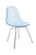 Eamesy Style Side Chair Acrylic H-Base-Chrome
