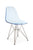 Eamesy Style Side Chair Acrylic Wire-Base-Chrome