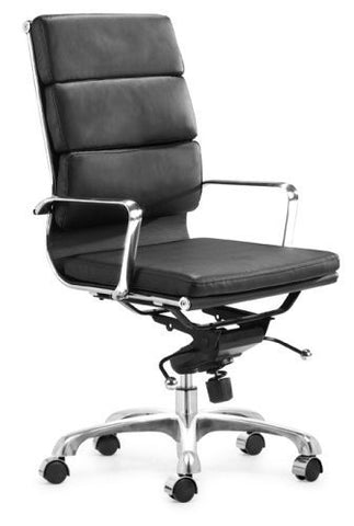 Eamesy Style Office Chair Soft Pad High Back - Faux Leather