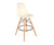 Eamesy Style Bar Stool Natural Base