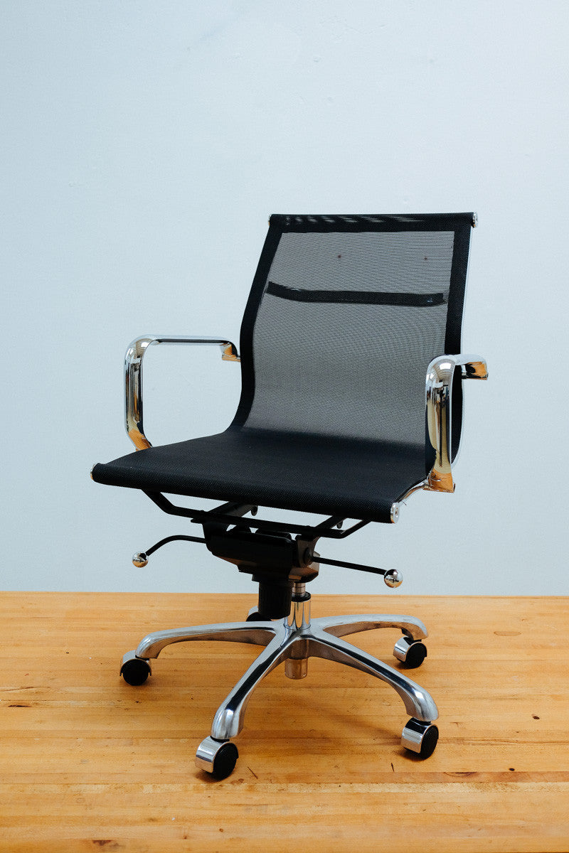 Eamesy Style Office Chair Low Back Mesh