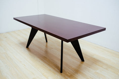 "Prouvey Style Table Rectangle 74"" Dark"