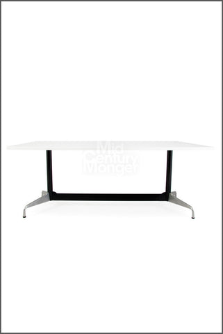 Eamesy Style Conference Table Rectangle 62""