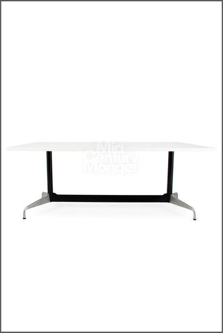 Eamesy Style Conference Table Rectangle 70""