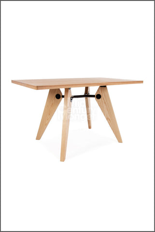 Prouvey Style Table Rectangle 51""