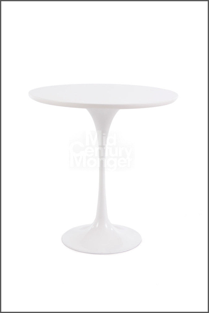 Saarineny Style Tulip Side Table White