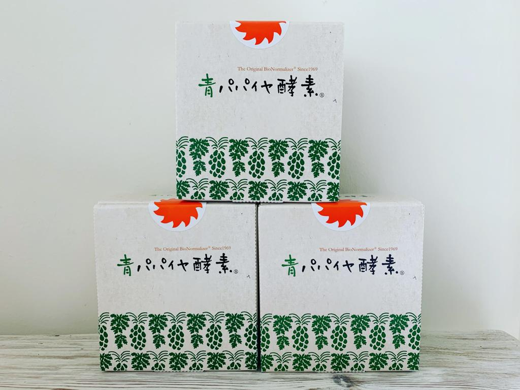 3 boxes of Fermented Green Papaya Enzyme