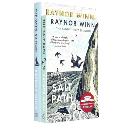 Raynor Winn 2 Books Collection Set (The Wild Silence,The Salt Path ) - The Book Bundle