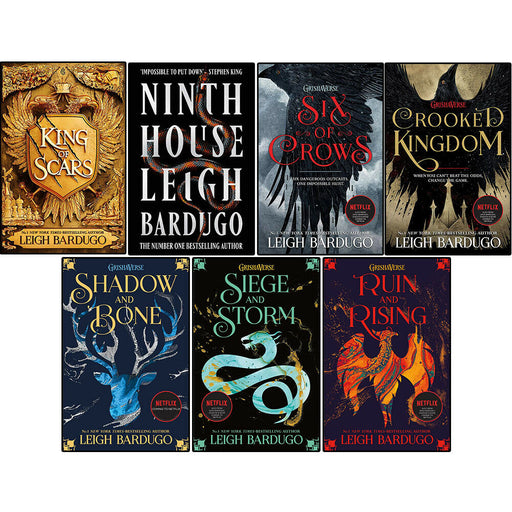 Leigh Bardugo 7 Books Set (King, Ninth, Six of Crows, Crooked, Shadow and More) - The Book Bundle
