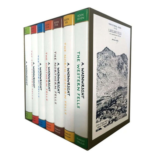 The Pictorial Guides To The Lakeland Fells 7 Books Collection Box Set by Alfred Wainwright - The Book Bundle