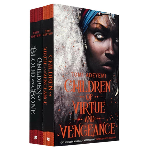 Legacy of Orisha Series 2 Books Collection Set by Tomi Adeyemi (Children of Blood and Bone, Children of Virtue and Vengeance) - The Book Bundle