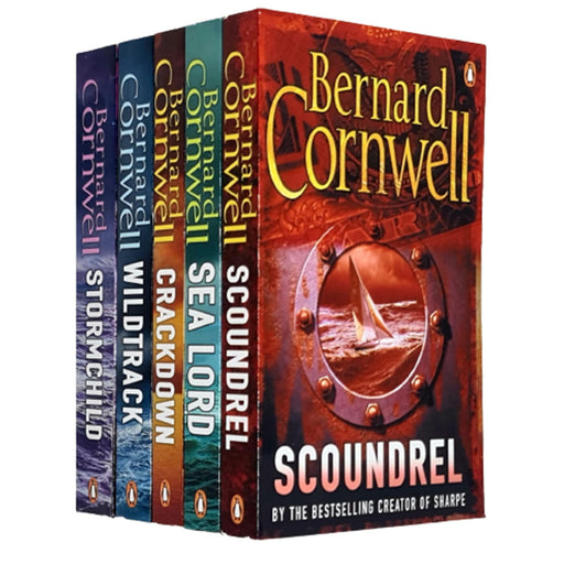 Bernard Cornwell Sailing Thrillers Collection 5 Books Set - The Book Bundle