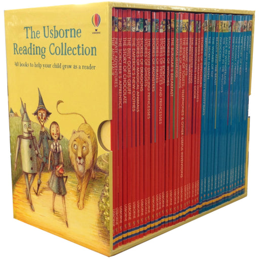Usborne Young Reading Series Collection 40 Books Box Set - The Book Bundle