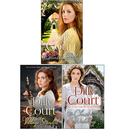 Dilly Court 3 Books Collection Set - The Book Bundle