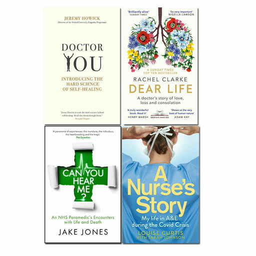 Can You Hear Me , Dear Life, Doctor You, A Nurse's Story 4 Books Collection Set - The Book Bundle
