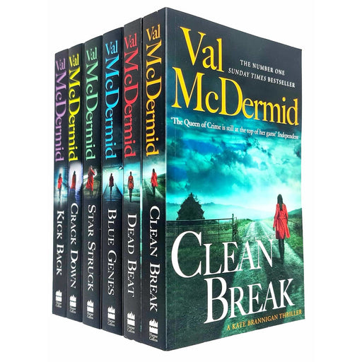 Val Mcdermid Kate Brannigan Series 6 Books Collection Set Paperback - The Book Bundle