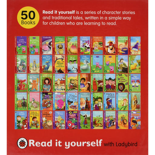 Read It Yourself 1-50 Tbp Product BY Ladybird - The Book Bundle