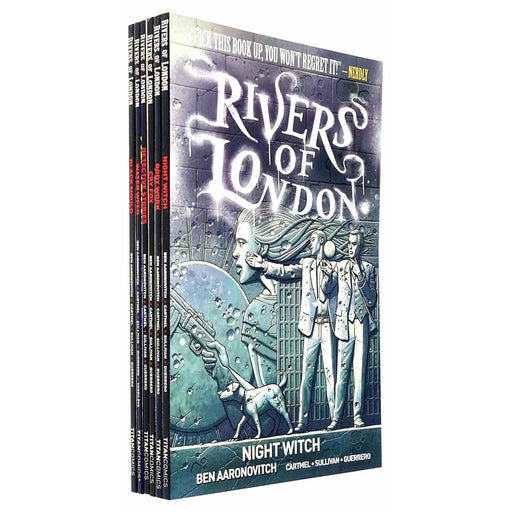 Rivers Of London Series (Vol 1-6) Ben Aaronovitch Collection 6 Books Set - The Book Bundle