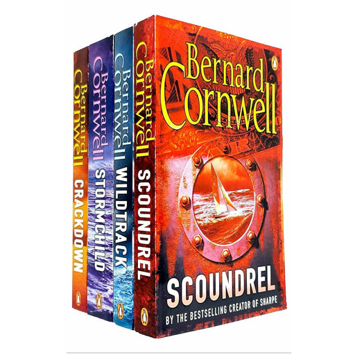 Bernard Cornwell Sailing Thrillers Collection 4 Books Set - The Book Bundle