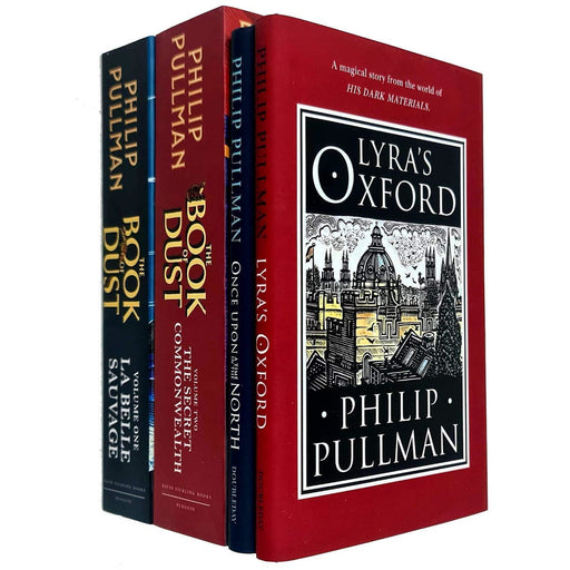 Philip Pullman His Dark Materials & The Book of Dust Vol 1 & 2 Collection 4 Books Set - The Book Bundle