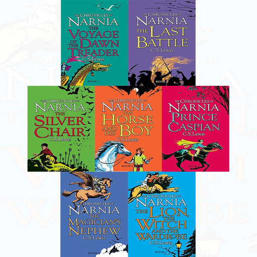 C s lewis chronicles of narnia series 7 books collection set - The Book Bundle