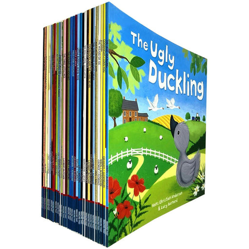 Children Picture Storybook 30 Books Collection Set (Ugly Duckling, Animal Magic) - The Book Bundle