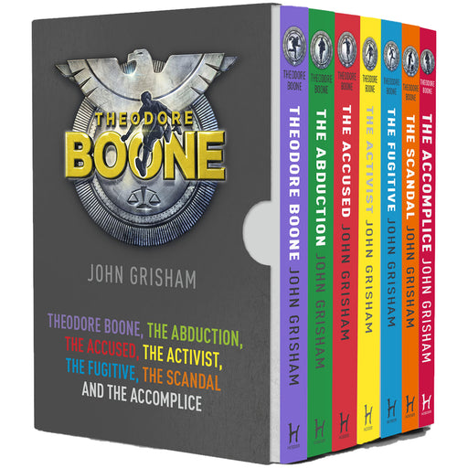 Theodore Boone Series Books 1 - 7 Collection Box Set by John Grisham (Theodore Boone, Accused, Activist, Fugitive, Abduction, Scandal & Accomplice) - The Book Bundle