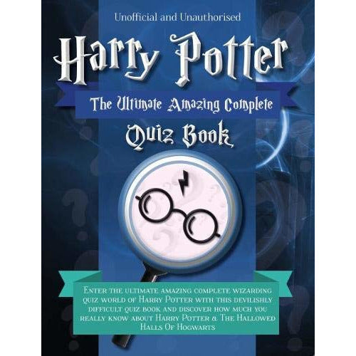 Harry Potter - The Ultimate Amazing Complete Quiz Book - The Book Bundle