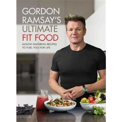 ultimate cookery course and ultimate fit food 2 books collection set by gordon ramsay - The Book Bundle