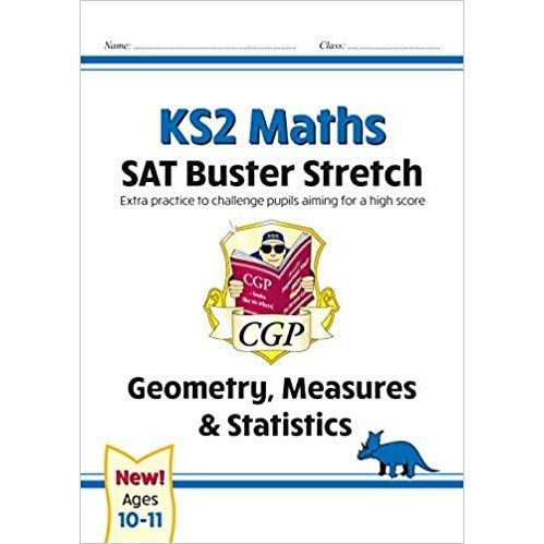 CGP New KS2 Maths SAT Buster Stretch 4 Books Collection Set Geometry, Measures & Statistics, Arithmetic, Number Ratio - The Book Bundle