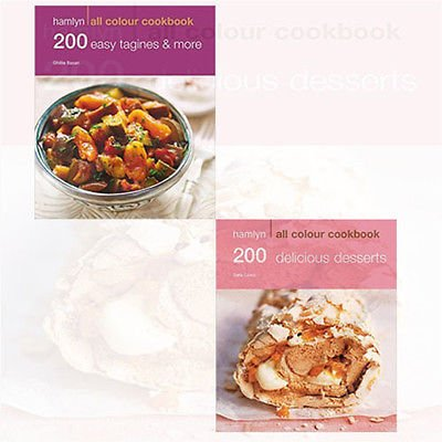 200 Dessert Recipes Collection 2 Books Bundle - The Book Bundle