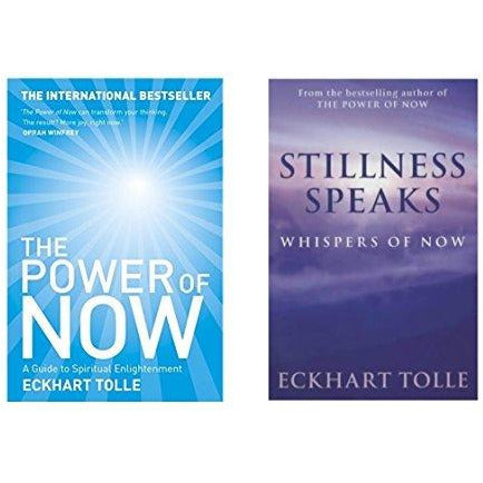 Eckhart Tolle Collection, (Power of Now & Stillness Speaks) 2 Books Set - The Book Bundle