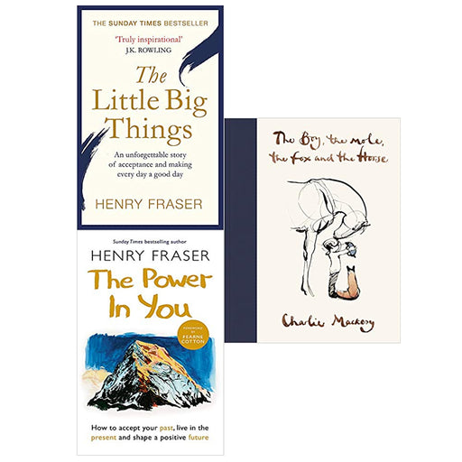 The Little Big Things,The Power in You:,The Boy, The Mole, The Fox and The Horse 3 Books Set - The Book Bundle
