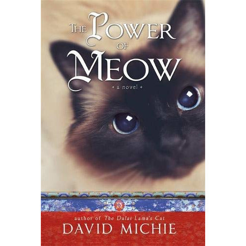 David Michie The Dalai Lamas Cat 3 Books Bundle Collection (The Dalai Lama's Cat, The Art of Purring, The Power of Meow) - The Book Bundle