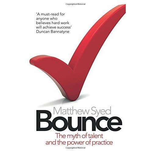 bounce,fitness mindset and chimp paradox 3 books collection set - The Book Bundle