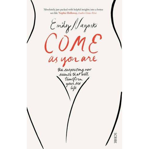 Come as You Are, The Vagina Bible, [Hardcover] Period 3 Books Collection Set - The Book Bundle