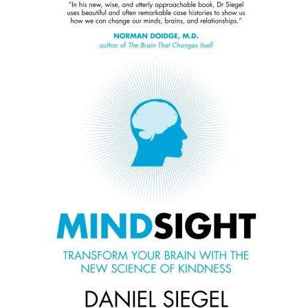 Mindsight daniel siegel, mindset carol dweck, whole brain child 3 books collection set - The Book Bundle