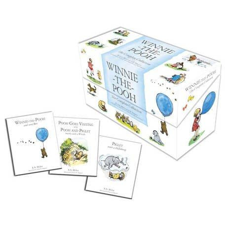 Winnie-the-Pooh: The Complete Collection - The Book Bundle