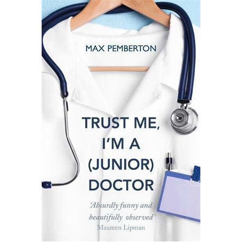 War Doctor Surgery on the Front Line, Do No Harm, Trust Me Im a Junior Doctor, Quick Reads This Is Going To Hurt 4 Books Collection Set - The Book Bundle