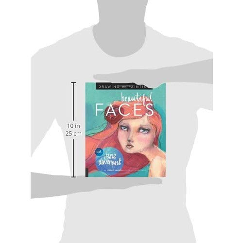 Drawing and Painting Beautiful Faces: A Mixed-Media Portrait Workshop - The Book Bundle