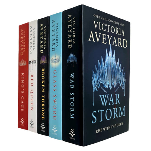 Victoria Aveyard Red Queen Series 5 Books Collection Set - The Book Bundle