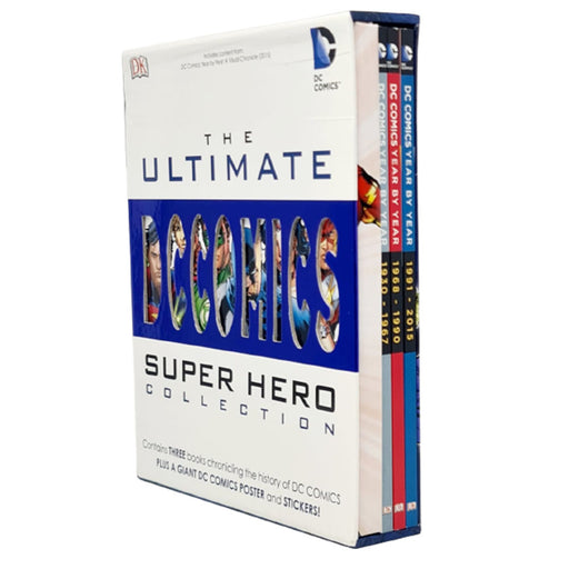 DC Comics The Ultimate Superhero Collection 3 Books Set - The Book Bundle