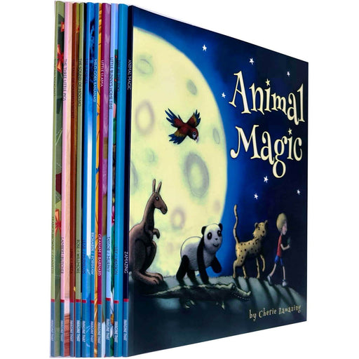 Children Picture Storybooks 10 Books Collection Set (Animal Magic, Day at the Zoo, Little Bunny's Home Time) - The Book Bundle