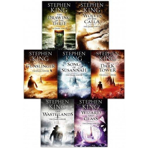 Stephen King Dark Tower Collection 7 Books Set Pack (1 To 7 Books Set) - The Book Bundle