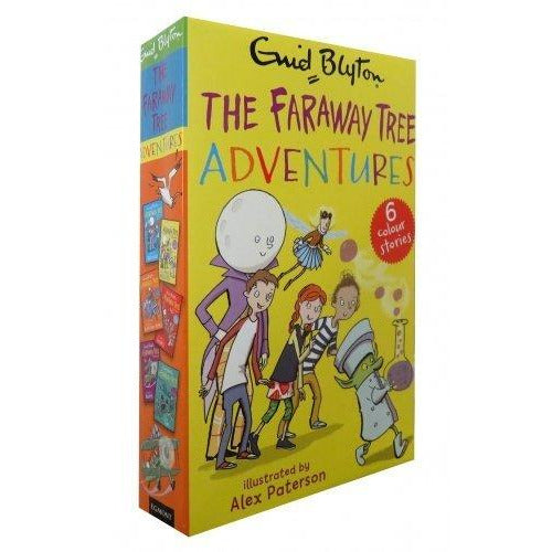 Enid Blyton The Magic Faraway Tree Adventures 6 Colour Stories (The Land of Dreams, Magic Medicines, Toys, Goodies, Do as you Please, Birthdays) - The Book Bundle