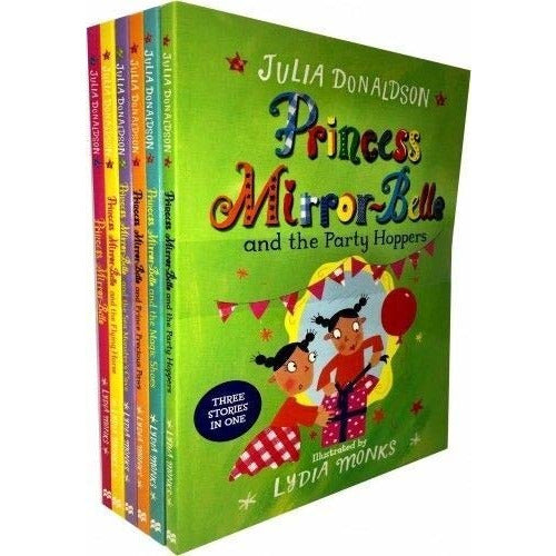 Princess Mirror-Belle 6 Books Set Collection Julia Donaldson And Lydia Monks... - The Book Bundle